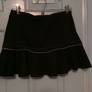 Cute black with pink skirt